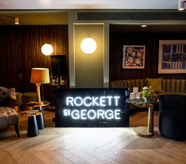 Rockett St George